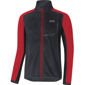 GORE WEAR C3 Gore Windstopper Jacket Men red/black